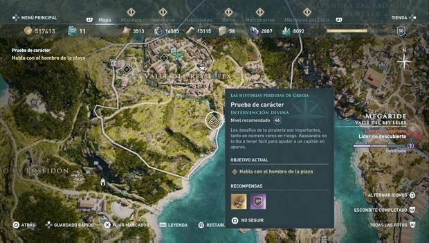 Assassin's Creed Odyssey - Historias perdidas: Intervención divina (prueba de carácter)