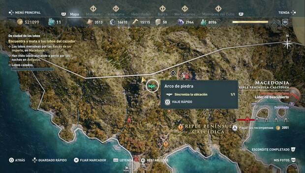 Assassin's Creed Odyssey DLC - De ciudad de los lobos: guaria de Darío y Natakas