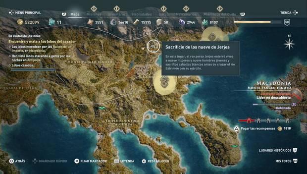 Assassin's Creed Odyssey DLC - Orden de los Antiguos: Conón el Luchador