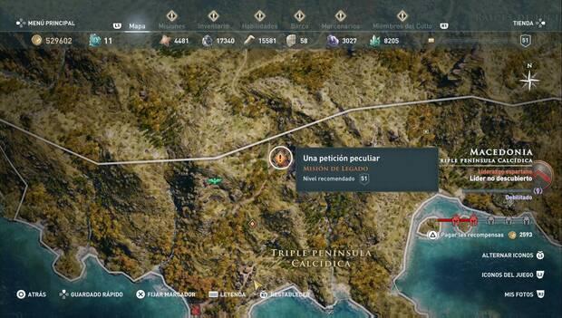 Assassin's Creed Odyssey DLC - Una petición peculiar: localización