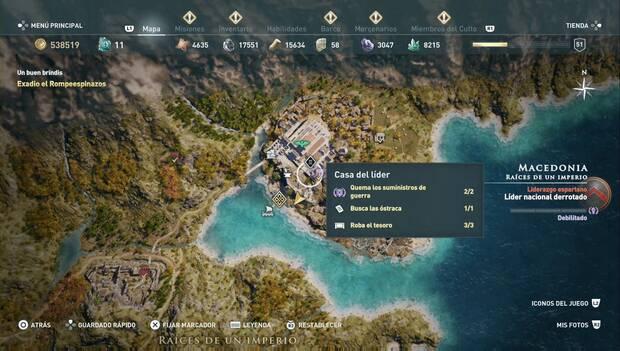 Assassin's Creed Odyssey DLC - Orden de los Cazadores: Acantia la Embustera (localización)