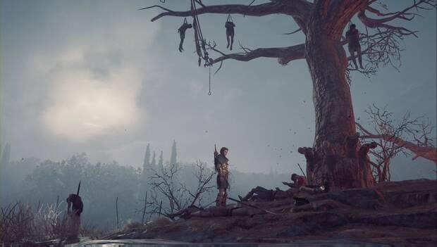 Assassin's Creed Odyssey DLC - Quejidos en la niebla: Kassandra vuelve al árbol