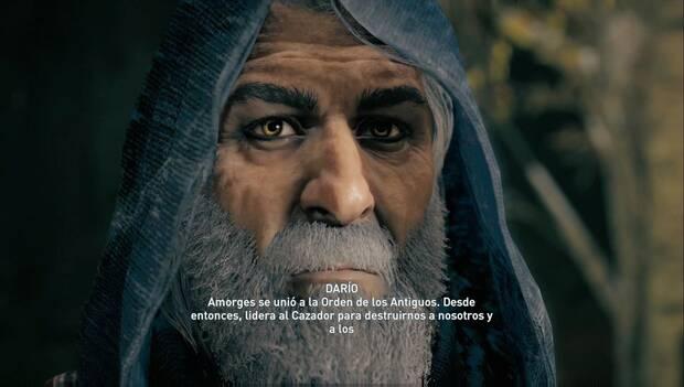 Assassin's Creed Odyssey DLC - Protector de Persia: Darío cuenta la verdad