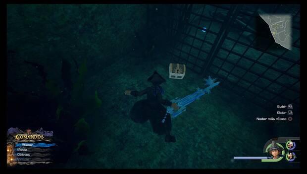 Kingdom Hearts 3 - El Caribe: Anillo de maestro hundido