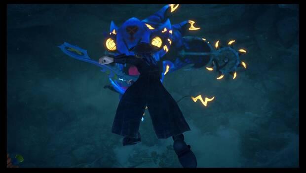 Kingdom Hearts 3 - El Caribe: Sincorazón acuático gigante
