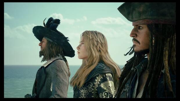 Kingdom Hearts 3 - El Caribe: Jack, Elizabeth y Barbossa en la Isla de Cruces