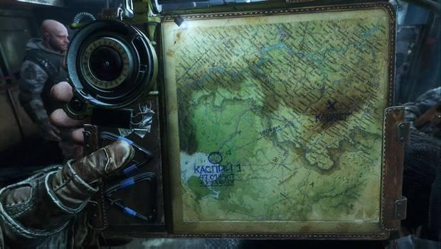 Metro Exodus - El mapa