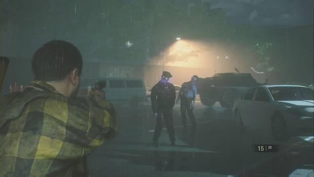 Resident Evil 2 Remake - Zombi morado
