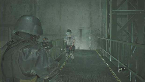 Resident evil 2 Remake - Zombi blindado