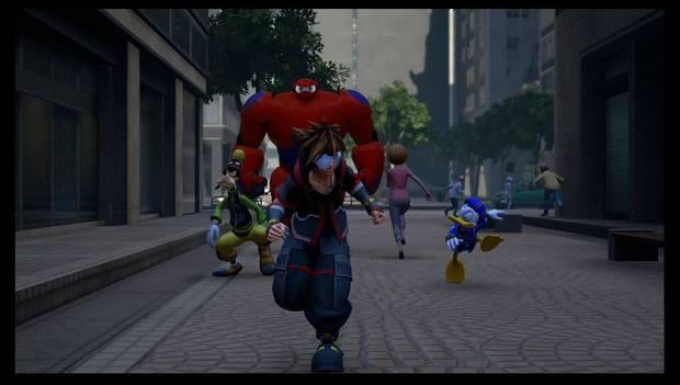 Kingdom Hearts 3 - San Fransokyo: Sora patrulla las calles