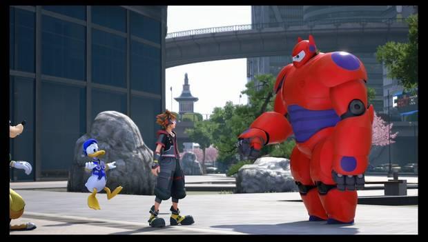 Kingdom Hearts 3 - San Fransokyo: Sora y Baymax