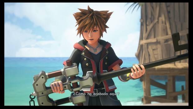 Kingdom Hearts 3 - Sora encuentra la llave del Maestro Eraqus
