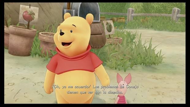 Kingdom Hearts 3 - Pooh y Conejo tienen problemas cotidianos