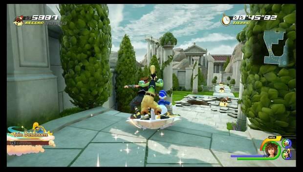 Kingdom Hearts 3 - Prueba del Flan de cereza