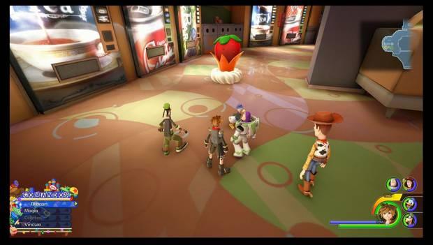 Kingdom Hearts 3 - Flan de fresa
