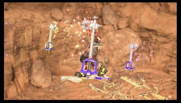 Kingdom Hearts 3 - Necrópolis de llaves espada: las llaves espada protegen a Sora