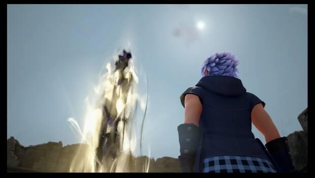 Kingdom Hearts 3 - Necrópolis de llaves espada: Riku oscuro es derrotado