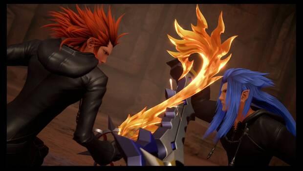 Kingdom Hearts 3 - Necrópolis de llaves espada: Saïx