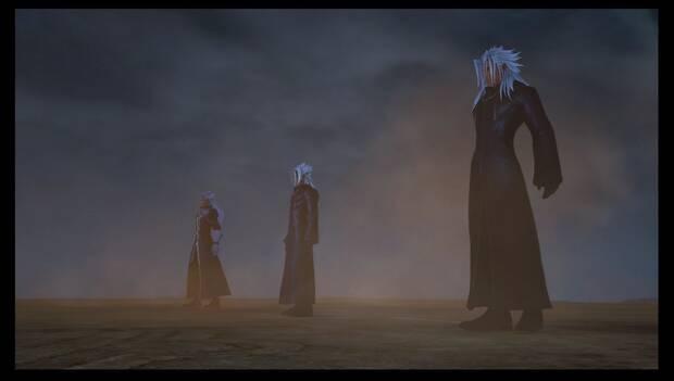 Kingdom Hearts 3 - Necrópolis de llaves espada: Ansem, Xehanort joven, Xemnas