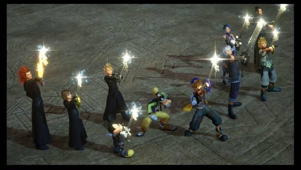 Kingdom Hearts 3 - Necrópolis de llaves espada: los 9 custodios de la luz