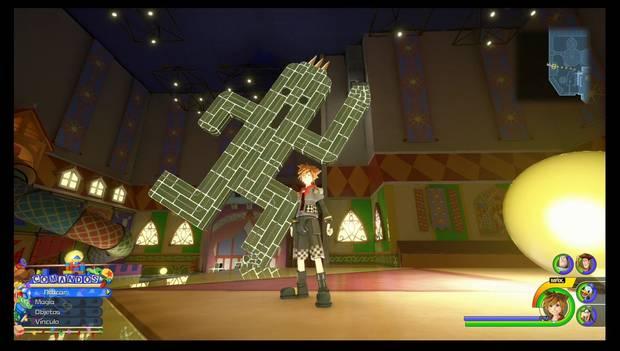 Kingdom Hearts 3 - Fotomisiones: ¡Ese tipo verde me resulta familiar, kupó!