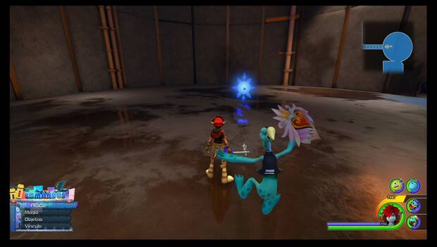 Kingdom Hearts 3 - Portales de batalla: Patio de tanques