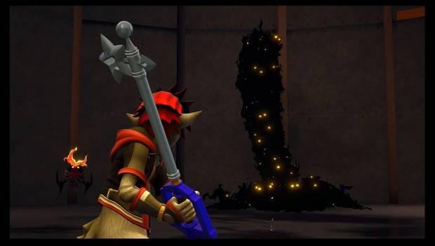 Kingdom Hearts 3 - Fotomisiones: ¡Qué horripilantes enjambres de oscuridad, kupó!