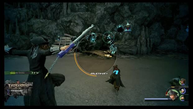 Kingdom Hearts 3 - Tiro certero: retícula