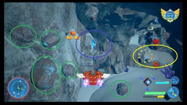 Kingdom Hearts 3 - Nave gumi: conceptos básicos