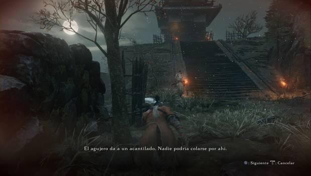 Sekiro Shadows Die Twice - Embalse de Ashina: los enemigos hablan de una posible entrada