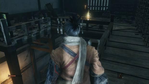 Sekiro Shadows Die Twice - Embalse de Ashina: grageas en la Torre Lunar
