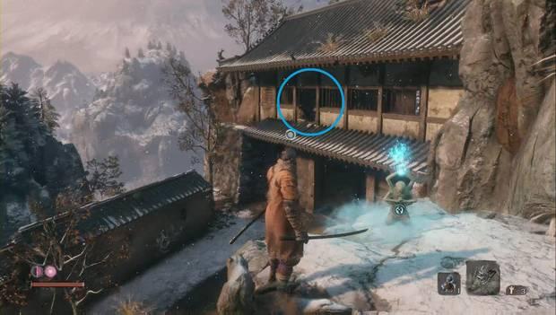 Sekiro - Alrededores de Ashina: Ubicacion de la Rueda Shuriken / Shuriken cargado
