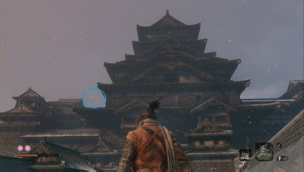 Sekiro - Castillo Ashina: Ruta a seguir para avanzar en el castillo