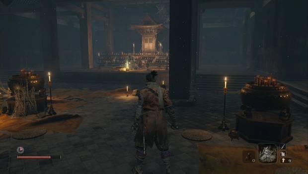 Sekiro: Shadows Die Twice - Localización de la Semilla en Templo de Senpo