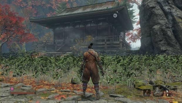 Sekiro - Templo Senpo: Pagoda a inspeccionar antes de seguir adelante