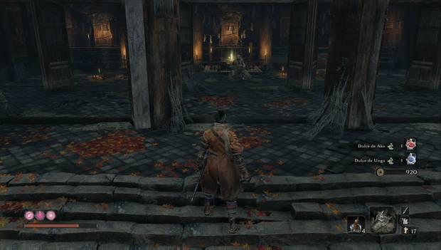 Sekiro - Templo Senpo: Monstruo escondido como trampa