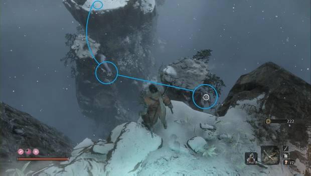 Sekiro - Valle sumergido: ruta a seguir para evitar los disparos de los enemigos