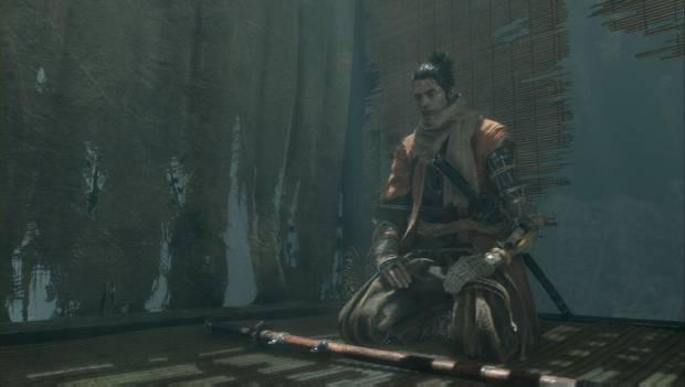 Sekiro: Shadows Die Twice - El Lobo se prepara para un combate