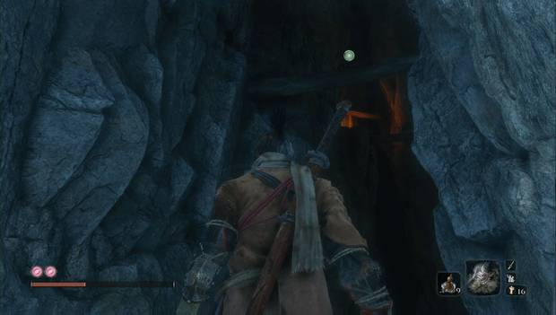 Sekiro: Shadows Die Twice - Cuentas de oración en el valle sumergido: punto para llegar a una cuenta secreta