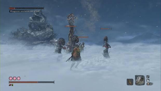 Sekiro - Dragones ancianos del árbol divino