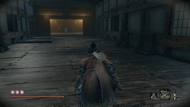 Sekiro - Castillo Ashina (Guerra): General Ashina oculto en el pasadizo secreto