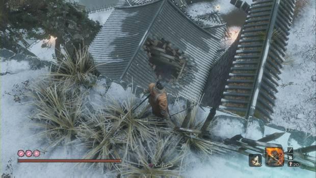 Sekiro: Shadows Die Twice - Agujero en el tejado del Tejón negro