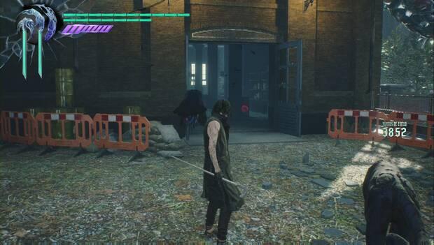 Devil May Cry 5 - Fragmento de Gema morada en la Misión 4