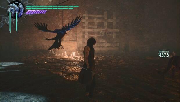 Devil May Cry 5 - Pared derribable en la misión 9