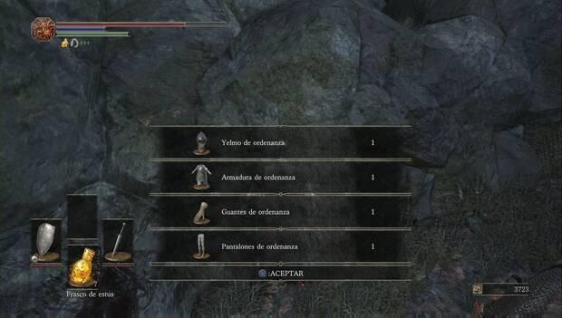 Dark Souls III - Catedral de la Oscuridad: set de ordenanza de camino a la catedral