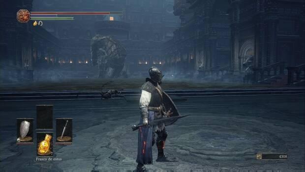 Dark souls III - Catedral de la oscuridad: el gigante de la zona del desagüe