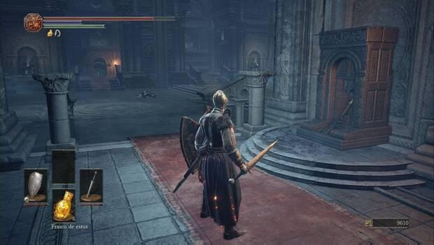 Dark Souls III - catedral de la oscuridad: la palanca en la galería de los gigantes