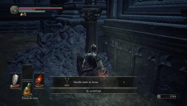 Dark Souls III - Catedral de la Oscuridad: Martillo doble de Doran