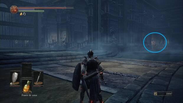 Dark Souls III - Catedral de la Oscuridad: localización de la segunda palanca