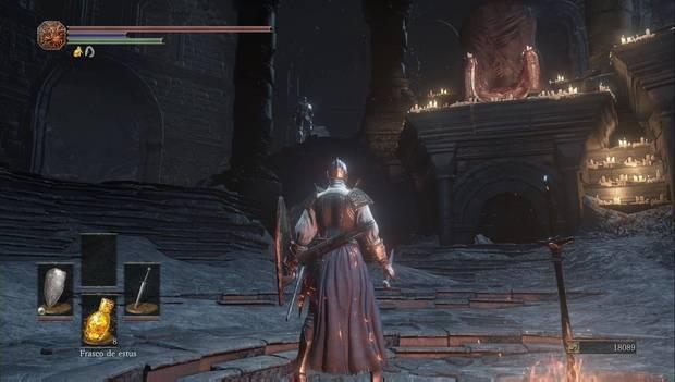 Dark Souls III - catedral de la Oscuridad: Anri de Asthora está en el santuario de enlace del fuego